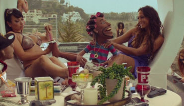 rap music video