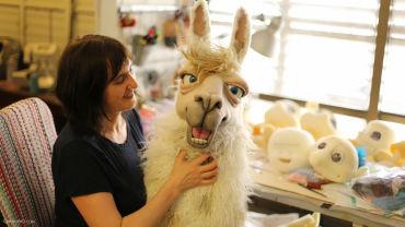 animatronic llama puppet