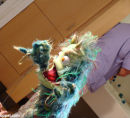 bacteria monster puppet