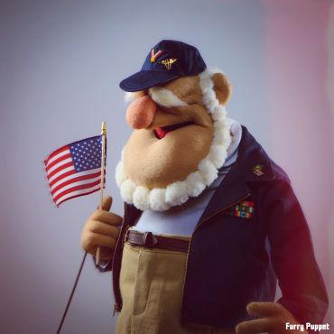 Custom Puppets - old man