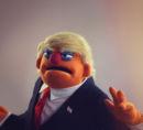 Donald Trump puppet