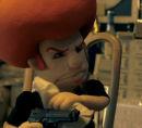 Redhead gangster custom puppet