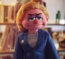 Hillary Clinton Puppet