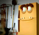 refrigerator custom puppet